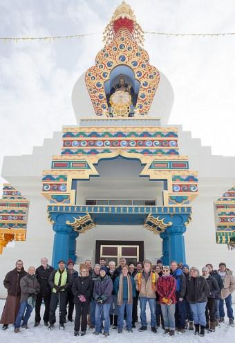 stupa tall