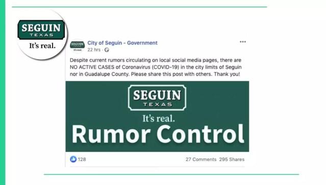 seguin rumor control