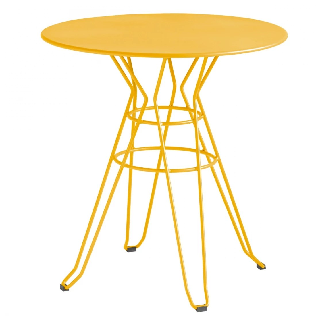 Table Ronde Jardin Habitat Table Basse De Jardin Ronde Capri Isimar