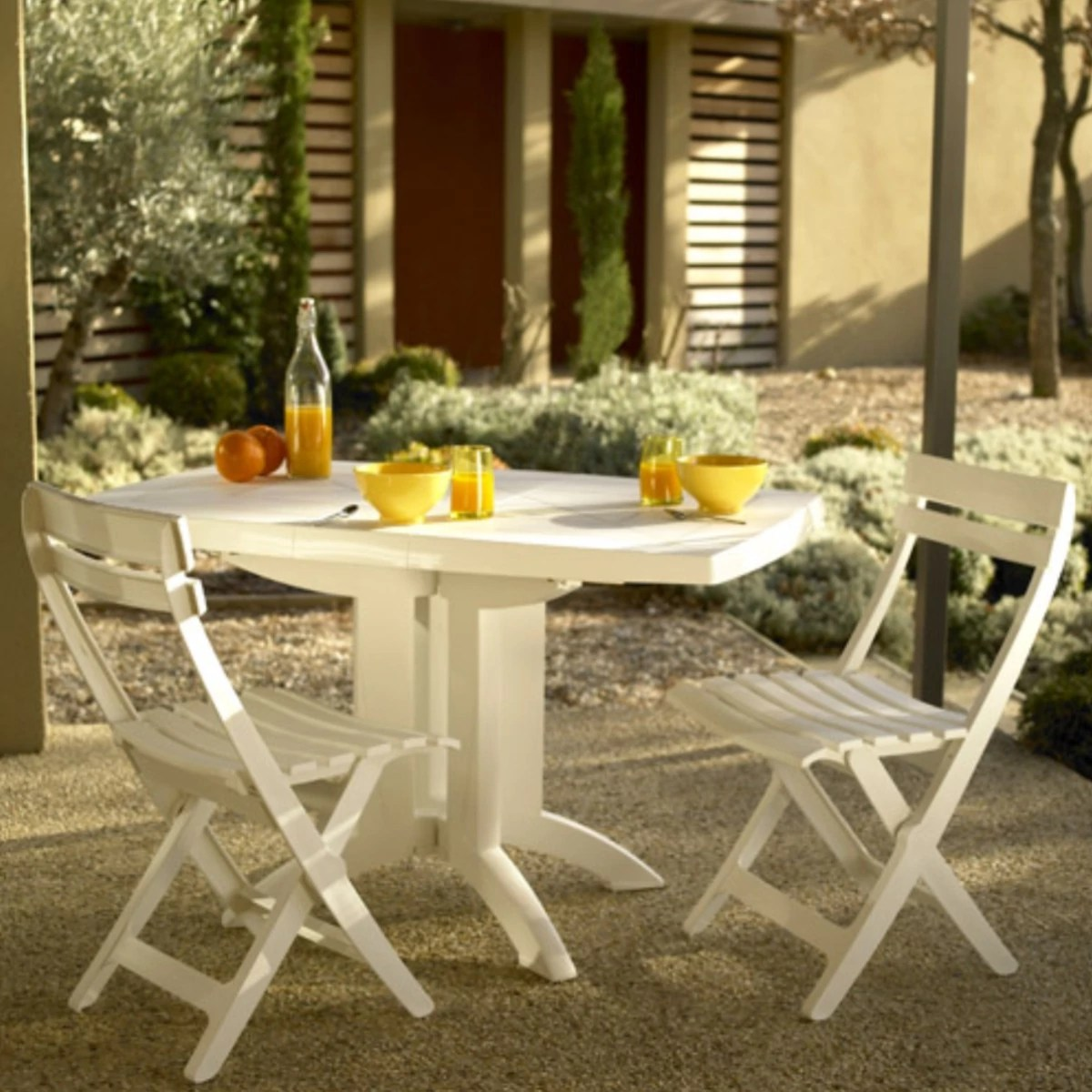 Table Haute Jardin Pliante Table De Jardin Pliante Vega Grosfillex