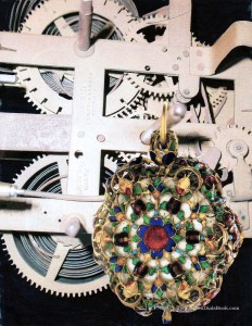 jewel-on-machinery