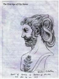 miles horsham bronze acadian elvish art first age of city states