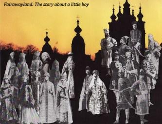 petersburg ghosts poster art work for daffy film