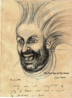 prehistoric god streng laughter - horsham bacata