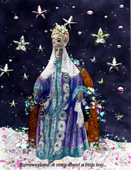 snow queen in movie 1920s