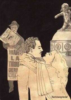 war poster art for daffy film -