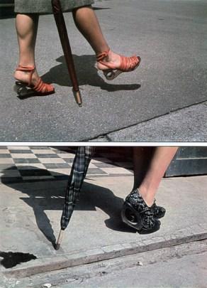 Chaussures parisiennes en 1940