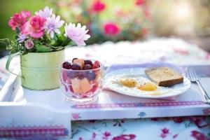 Table petit déjeuné