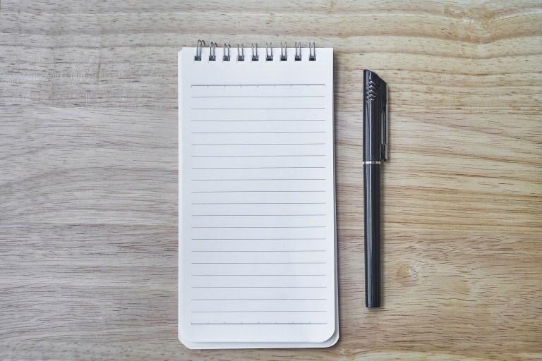 carnet de note