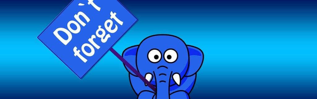 mémoire d'éléphant ne pas oublie