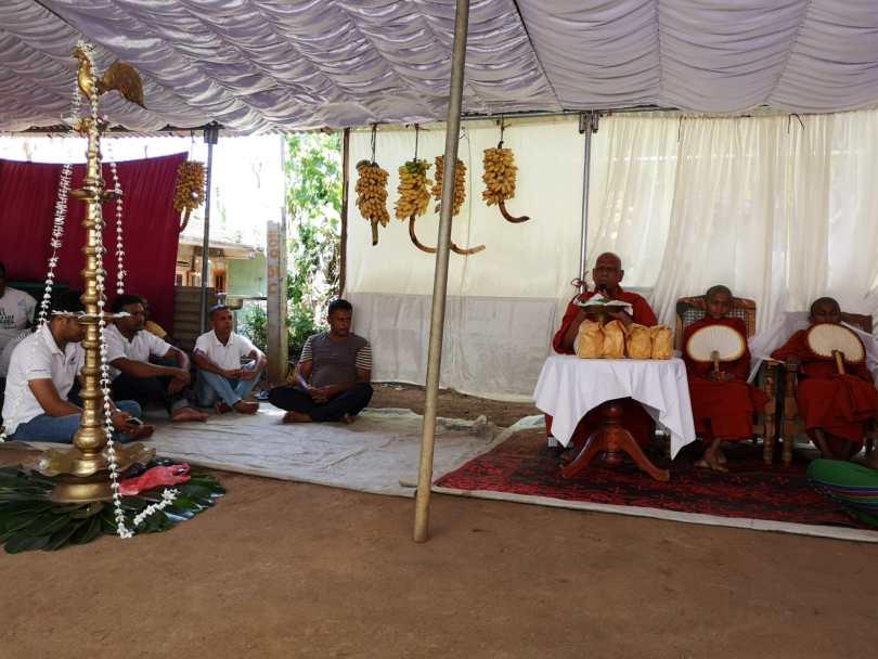 cérémonie bouddhiste sri lanka