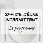jeûne intermittent programme