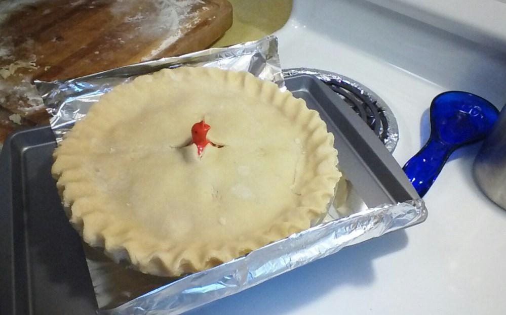 Halloween Pie Bird