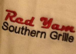 Red Yam Logo on sleeve2
