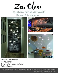glass art installations 2016