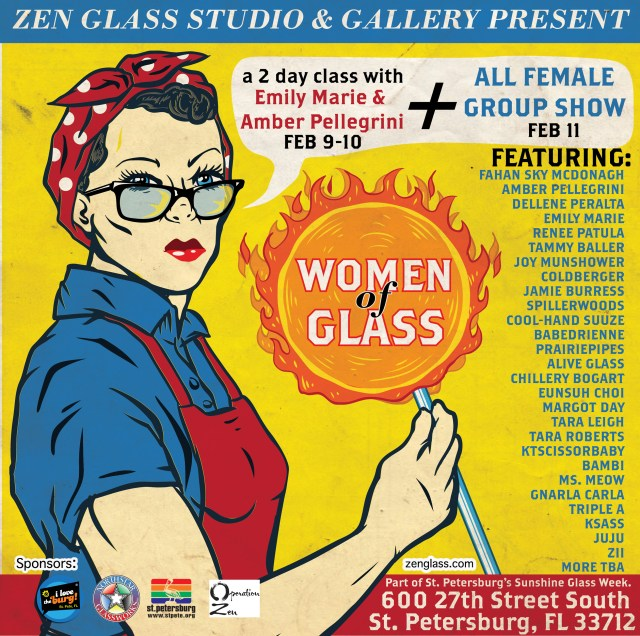 Women of Glass show