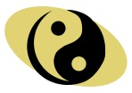 The yin yang symbol perfectly illustrates the essential principles of the theory. The circle symbolizes the infinity of energy, or, ki. There is no beginning and no end. A curved, moving line divides the two forces showing constant flow of yin into yang and vice versa. Within the two colors is a dot of the opposite color. This shows that everything contains its opposite and that it cannot exist without the other. And, the two colors are proportioned, showing their relative balance.