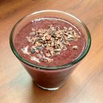 Choc-Berry Protein Smoothie