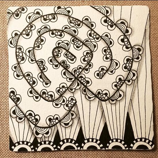 Zentangle Labyrinth