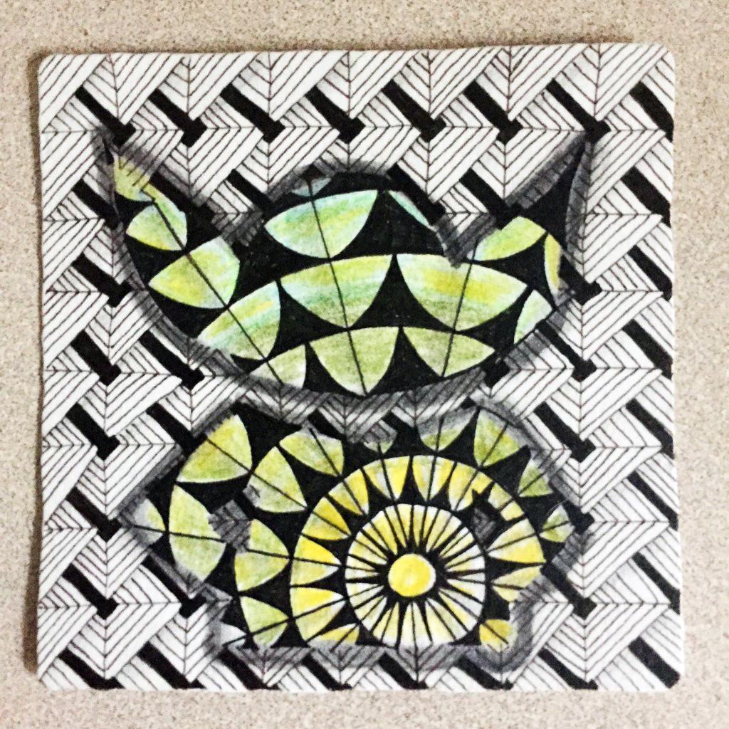Yoda Zentangle Drawing