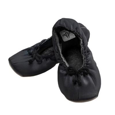 Chaussons avec aimants Noir F-0008 magnétique bien_être zenhumeur.com