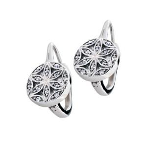 Les boucles d'oreilles Fleur de Vie fascinent par leur design 4195