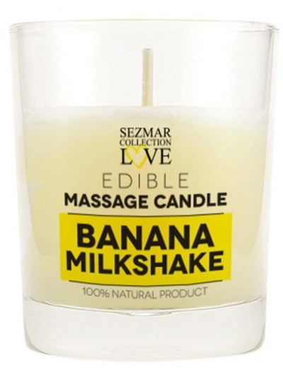 Bougie de massage milk-shake banane 100 ml