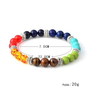 Bracelet de yoga pierre naturel