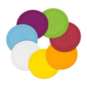 le dessous de verre magnétique 7 couleurs
