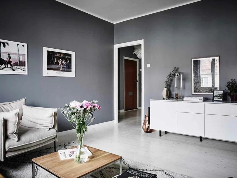Elegant Cheap Wohnzimmer Inspiration In Graunuancen Innendesign With Wohnzimmer