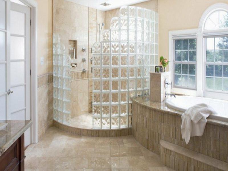 Badezimmergestaltung mit Glas  Badezimmer Toiletten  Sanitr  ZENIDEEN