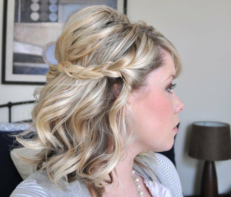 25 Damenfrisuren fr schulterlange Haare