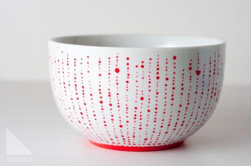 Porzellan bemalen Das alte Geschirr neu gestalten