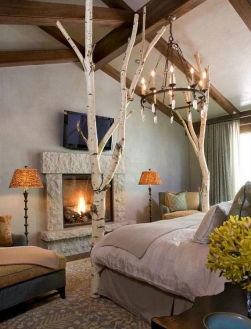 35 Ideen fr Birkenstamm Deko  bringen Sie die Natur in Ihre Wohnung  Deko  Feiern  ZENIDEEN