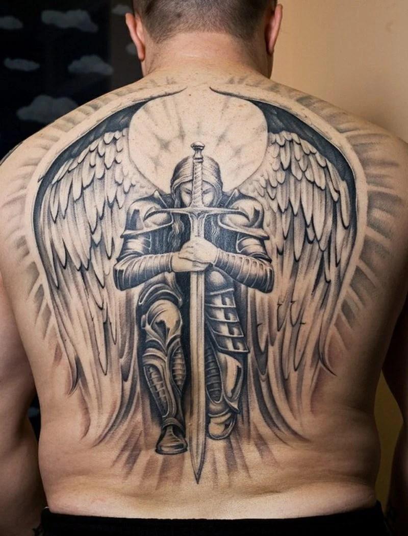 Die 25 besten Engel Tattoos die Ihnen Flgel geben