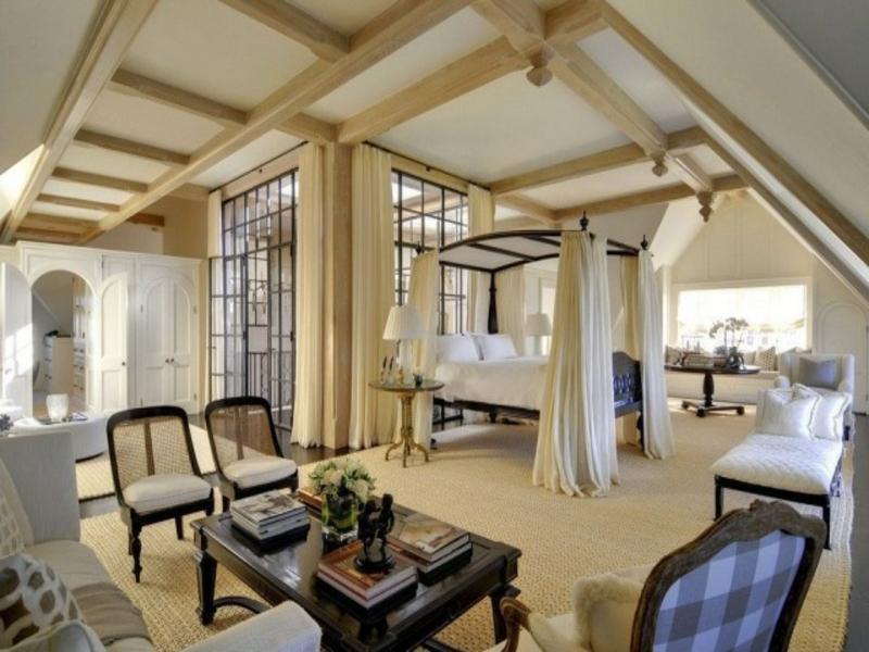 Luxus Schlafzimmer Mit Himmelbett