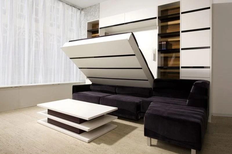 Lösung für kleine Räume: 21 Wandbett Ideen - Möbel - ZENIDEEN