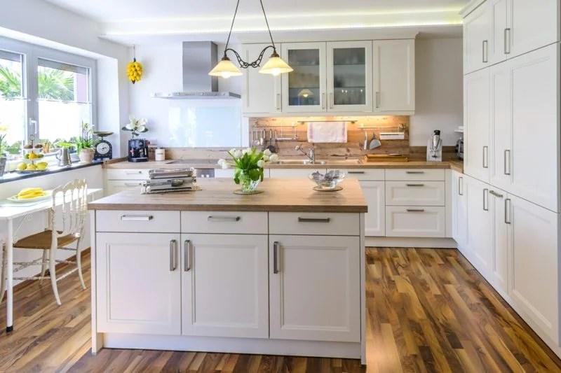 Einfache Küche Selbst Bauen | Moderne Ideen Zur Optischen ...