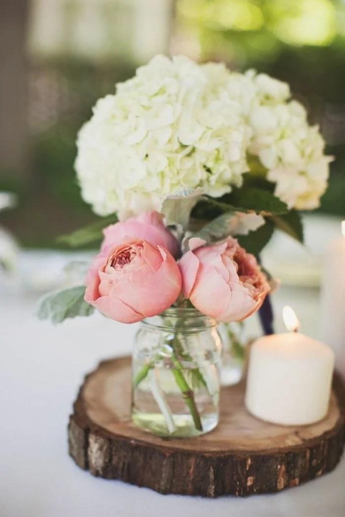 Blumen Tischdeko  eine frische Idee  Deko  Feiern