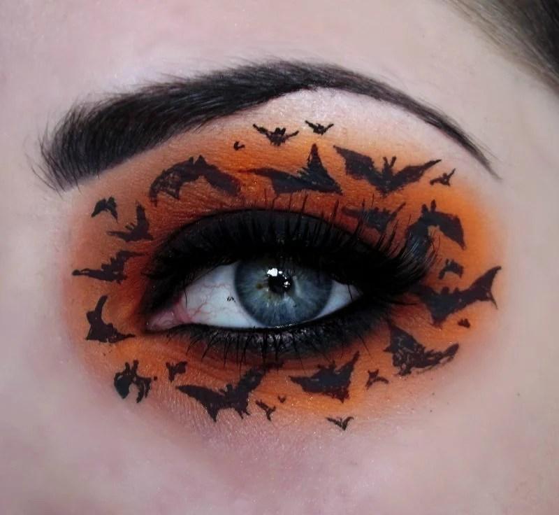 Fledermaus schminken  Schritt fr Schritt Anleitung  Halloween  ZENIDEEN