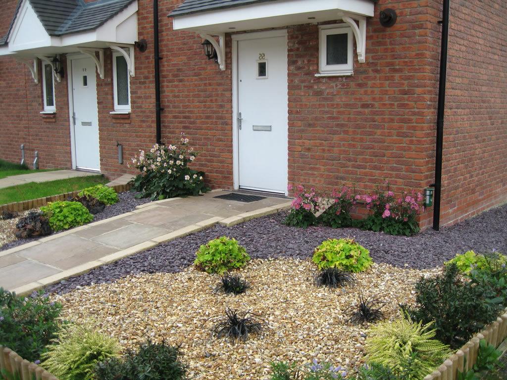 Garten Mit Kies Und Pflanzen Vorgarten Gestalten Mit Kies Und