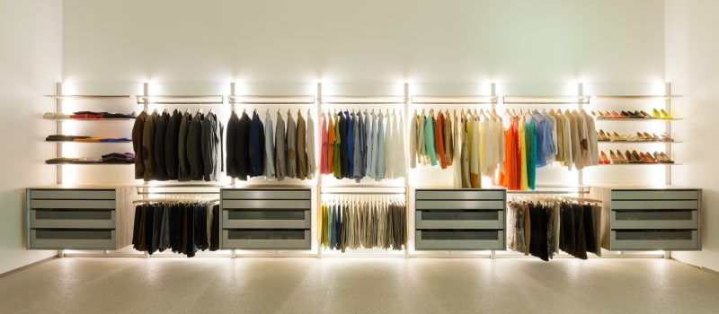 Ein Hauch Luxus  27 Ideen fr offene Kleiderschranksysteme  Mbel  ZENIDEEN