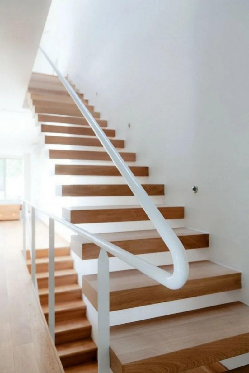 Freitragende Treppe – 40 Moderne Designideen