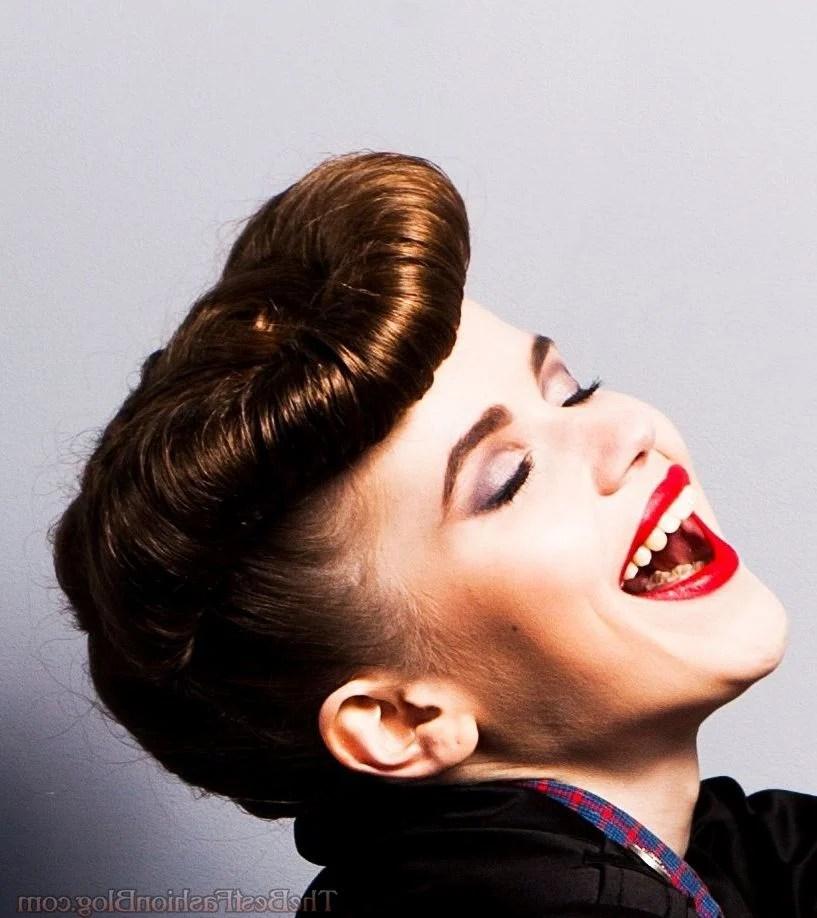 Tolle Rockabilly Tolle 19 Pin Up Frisuren Zum Selbermachen