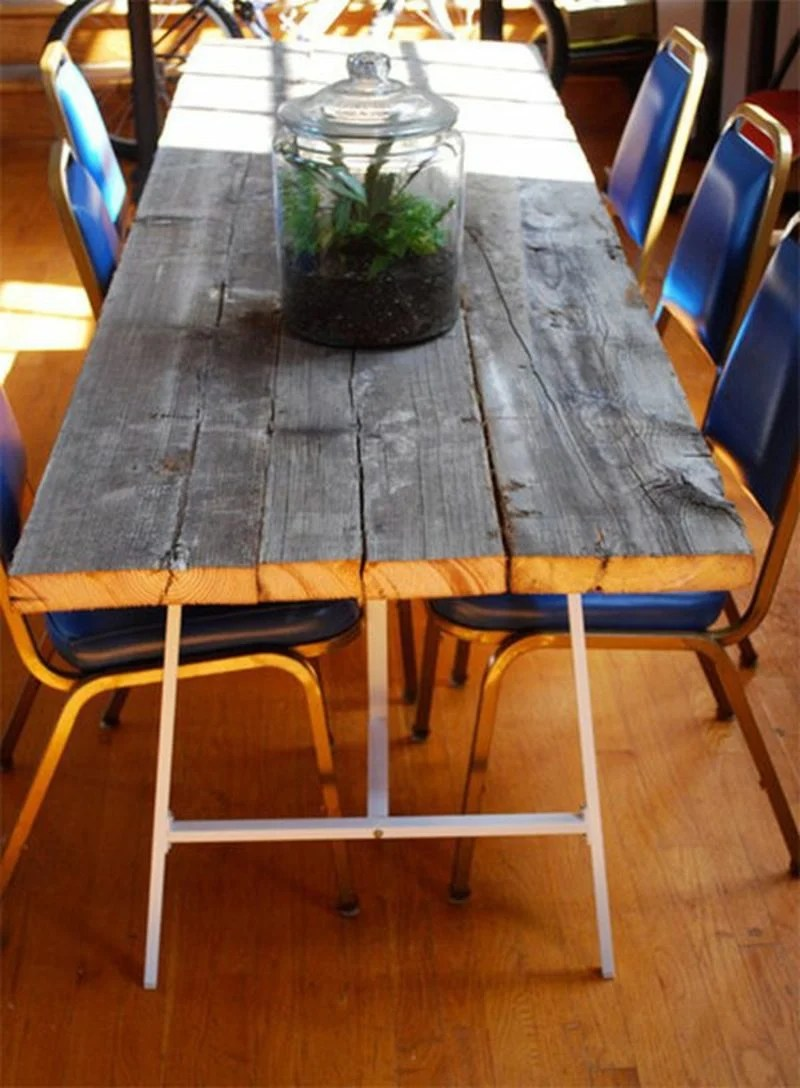 Gartentisch selber bauen  Anleitung  DIY Garten Haus  Garten Mbel  ZENIDEEN