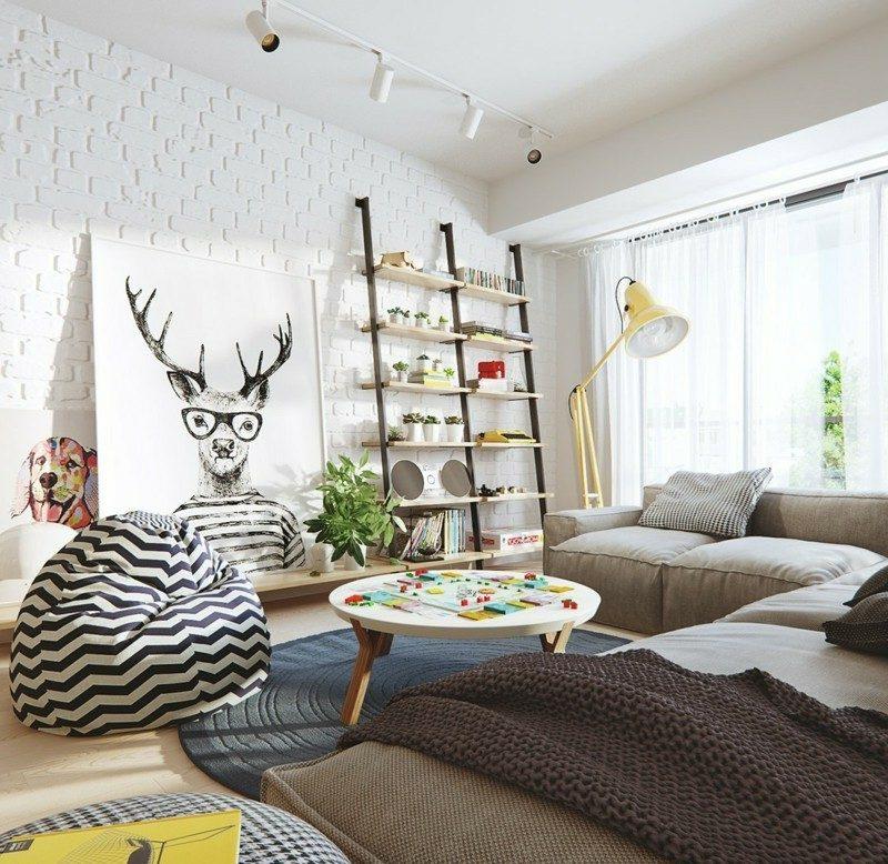 Startseite Design Bilder – Wahnsinnig Wohnzimmer Skandinavisch ...