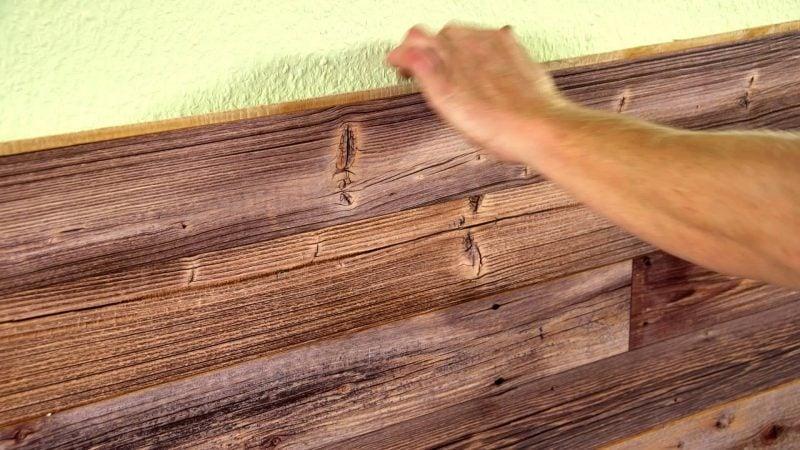 Bad Wandverkleidung mit Holz  warum denn nicht