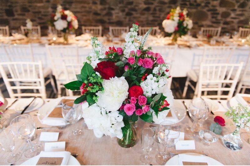 Hochzeit Blumenschmuck 22 romantische Vorschlge  Deko