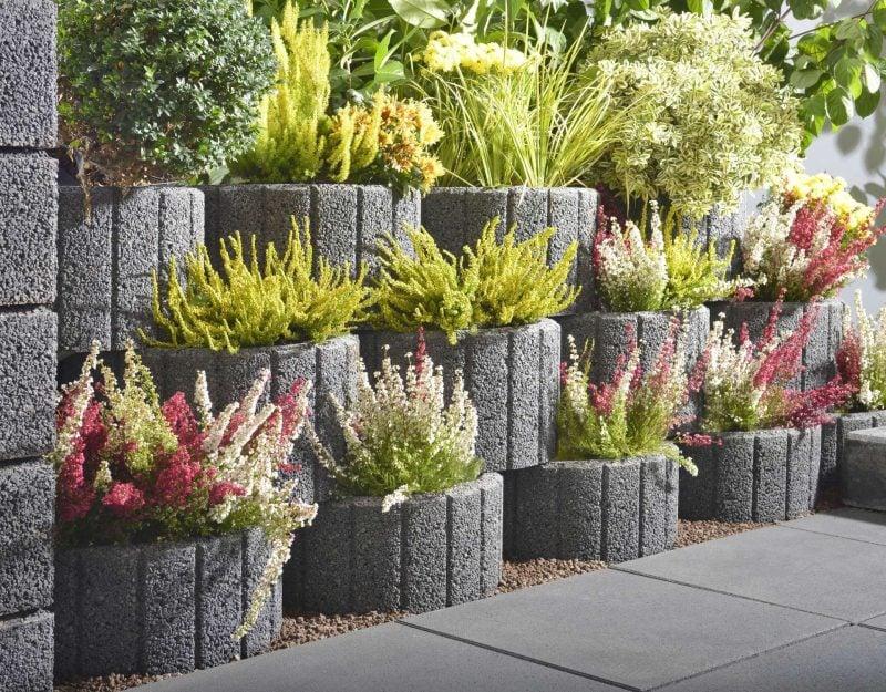 Pflanzsteine setzen 20 wunderbare Ideen  Garten  ZENIDEEN
