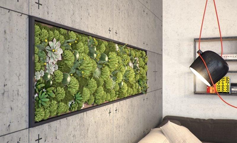 vertikale garten indoor – actof, Gartenarbeit ideen